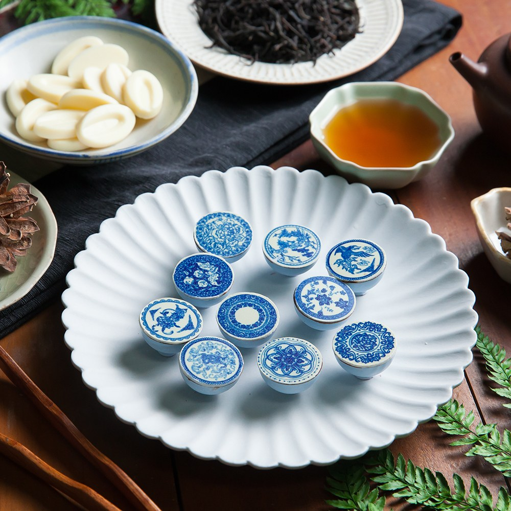 青花瓷巧克力 Blue and white porcelain chocolate